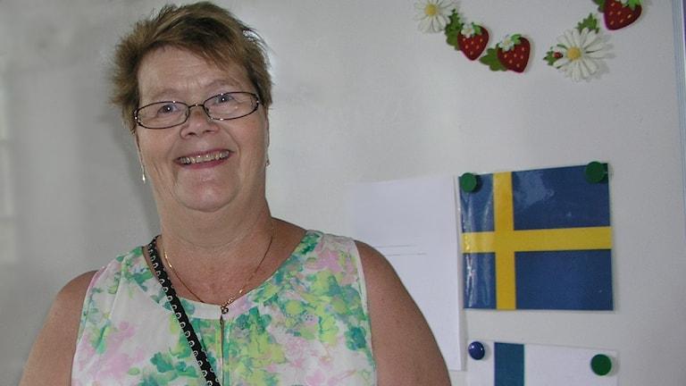 Seija Sjöstedt 2015 Syyskussa. Foto: Kirsi Blomberg Sveriges Radio