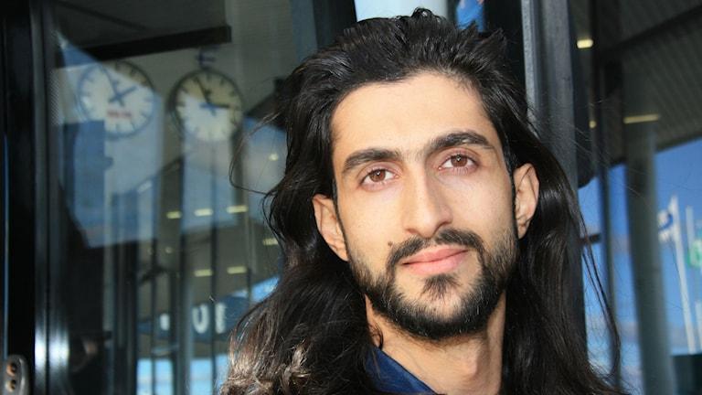 Haidar Ali toivoo itselleen yksinkertaisesti Elämää. Foto/Kuva: Hannele Kenttä