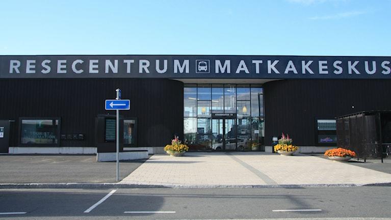 Tornio-Haaparanta -matkakeskus on keskeisessä asemassa. Kuva/Foto: Hannele Kenttä