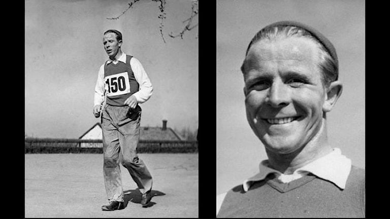 1910-1984, svensk idrottsman och tränare, född i Finland. Gymnastik- och idrottsinstruktör vid den etiopiske kejsarens livgarde från 1946. Tränade guldmedaljören Abebe Bikila. Foto: SVT BILD