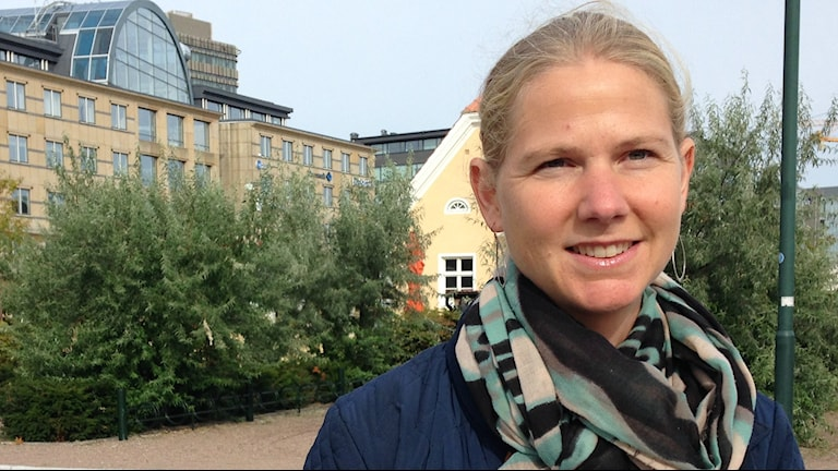 Sara Önnebo. Foto: A-L Hirvonen Nyström/SR Sisuradio