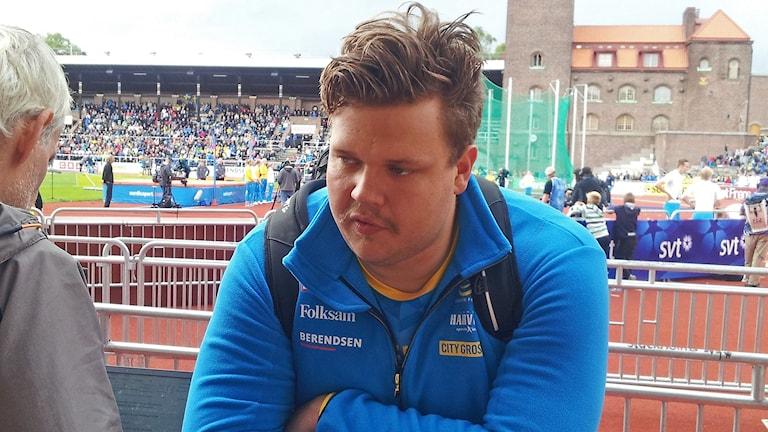 Daniel Ståhl. Kuva/Foto: Anna Tainio, SR Sisuradio.