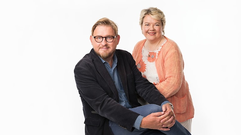 Karlavagnen med Fredrik Virtanen och Marjaana Kytö Foto: Mattias Ahlm/Sveriges Radio