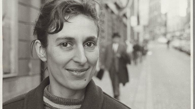 Kirjailija ja ihmisoikeusaktivisti Katarina Taikon. Foto Björn Langhammar