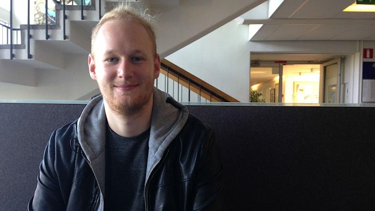 Dennis Barvsten. Foto: Marika Pietilä SR Sisuradio