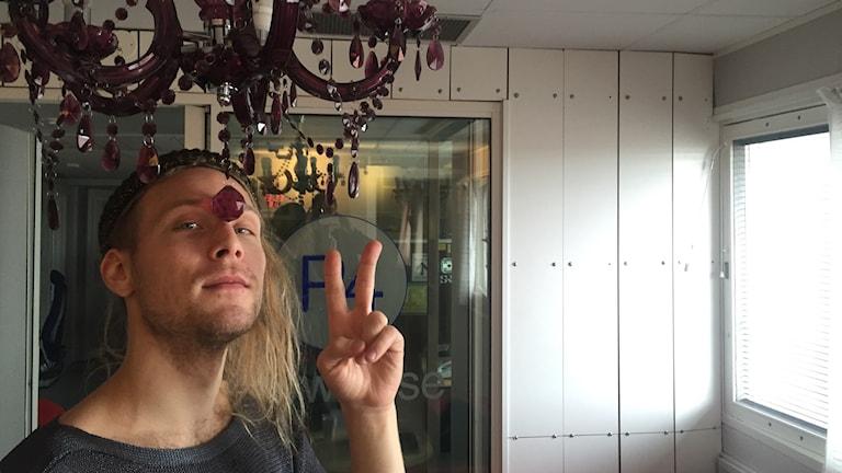 Simon Zion. Kuva: Taneli Männikkö/Sveriges Radio Sisuradio