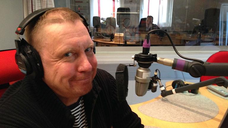 Erotiikka-asiantuntija Jorma Toivonen. Kuva: Marika Pietilä / Sveriges Radio Sisuradio