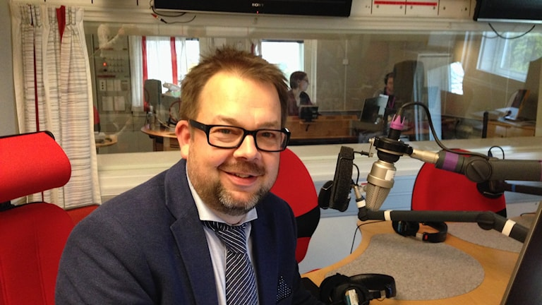 Jari Puustinen. Kuva: Marika Pietilä / Sveriges Radio Sisuradio