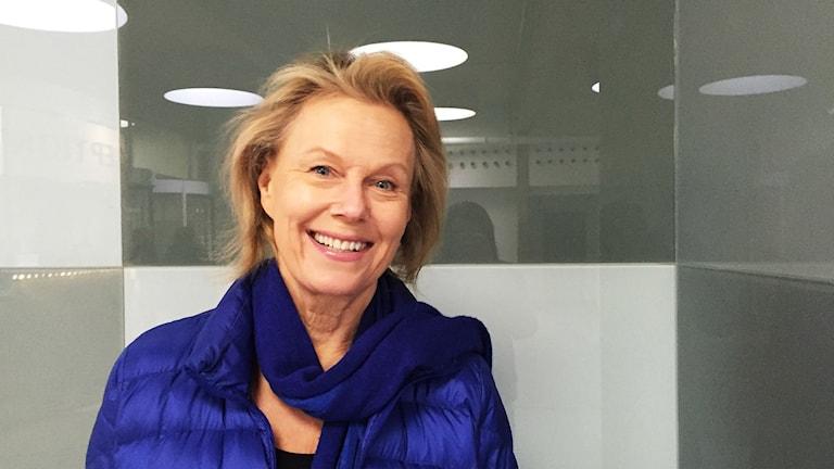 Artisti Arja Saijonmaa. Kuva: Marika Pietilä / Sveriges Radio Sisuradio