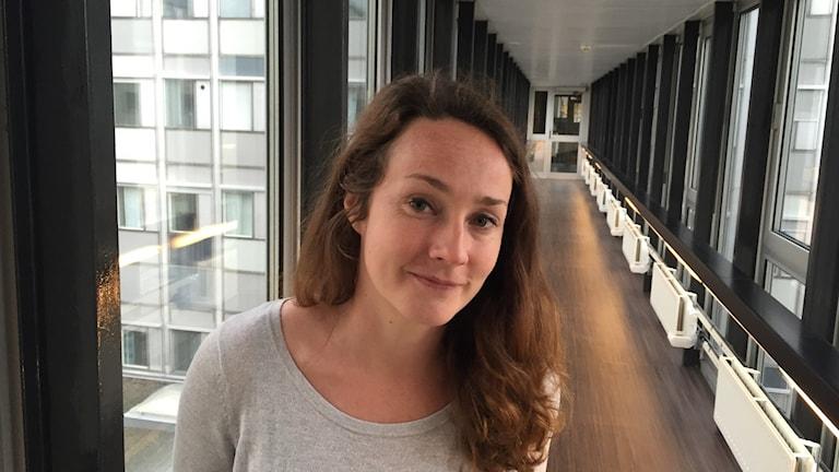 Kompis Sverige:n Elina Blomberg. Kuva/foto: Taneli Männikkö/Sveriges Radio Sisuradio