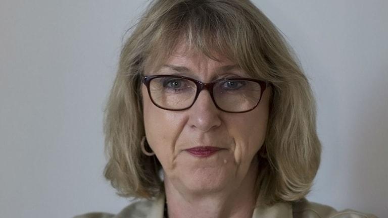Omaistutkija Ann-Britt Sand Tukholman yliopistosta.