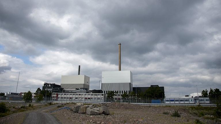 Oskarshamnin ydinvoimala. FOTO: Adam Ihse/TT