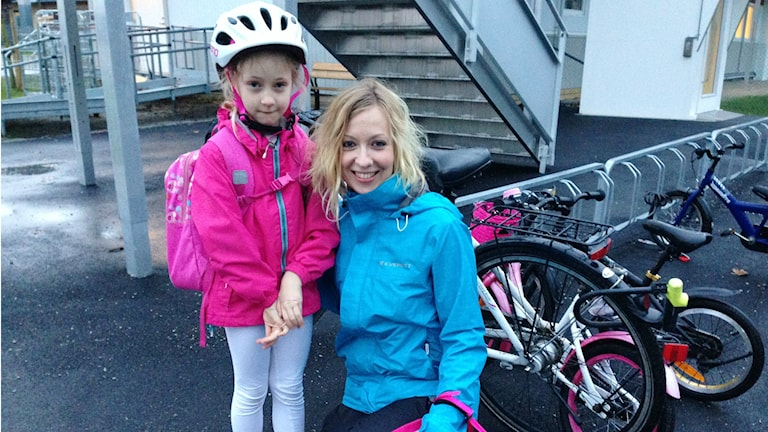 Kati ja Nea Lundberg. Foto: A-L Hirvonen Nyström/SR Sisuradio