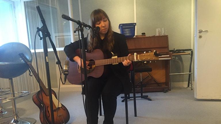 Anna-Stina Jungerstam. Kuva: Taneli Männikkö/Sveriges Radio Sisuradio