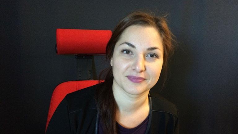 Sara Aarnivaara. Foto: Hanna Lindberg/Sverigesradio Sisuradio.