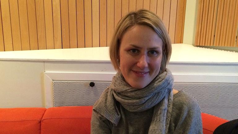 Eriikka Nylund. Foto: Hanna Lindberg/Sveriges Radio Sisuradio.
