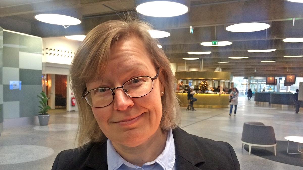 Kaisa Syrjänen Schaal. Foto: Virpi Inkeri/SR