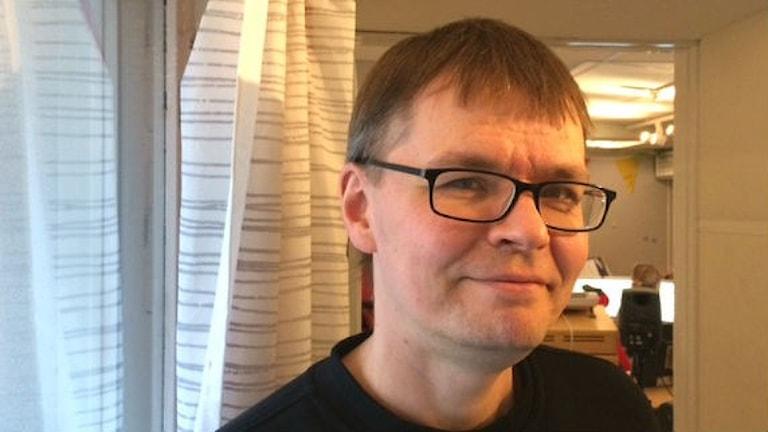 Jazz-muusikko, säveltäjä  Mika Pohjola. Foto: Virpi Inkeri/SR