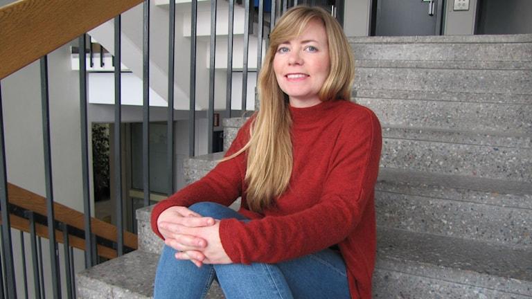 Elin von Wright. Finnblickens nya redaktör. Foto: Helena Huhta / Sveriges Radio