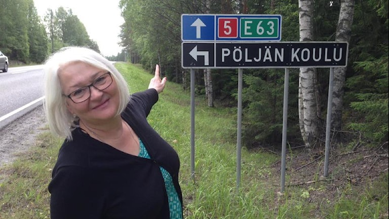 Tiekyltti Pöljän koululle