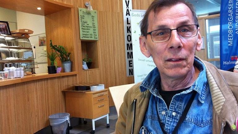 Kuvassa Erkki Grönroos. Kuva/Foto: Muhamed Ferhatovic / Sveriges Radio