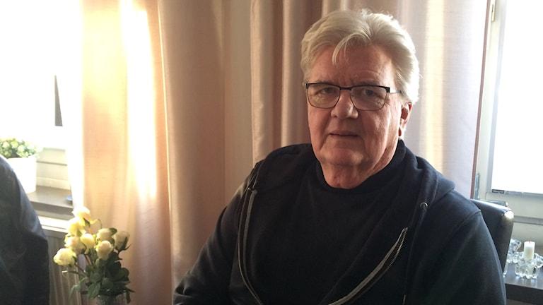 RSKL:n puheenjohtaja Voitto Visuri. Kuva: Tytti Jussila / SR Sisuradio