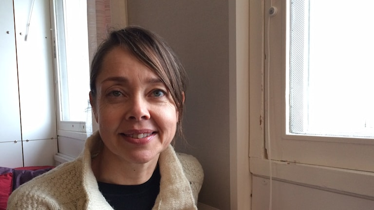 Tatja Hirvikoski, ADHD -tutkija ja dosentti Karolinska Instituutista. Foto: Niki Bergman / Sveriges radio Sisuradio