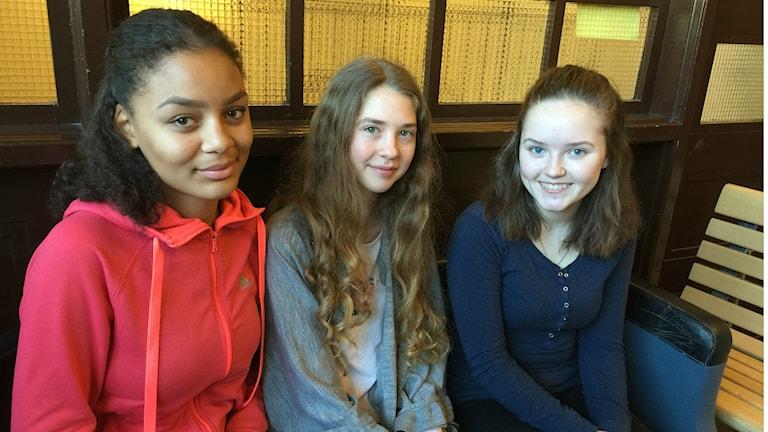 Niki, Isabelle ja Nilla kertovat ystävyydestä Tähdessä.