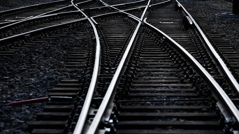 Kuvassa junaraiteet. Foto/Kuva: Junge Heiko