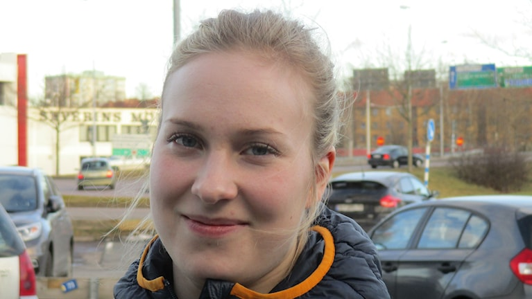HV71:n hyökkääjä Jennica Haikarainen.