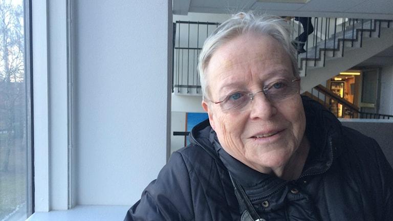 Toimittaja-kirjailija Yrsa Stenius.