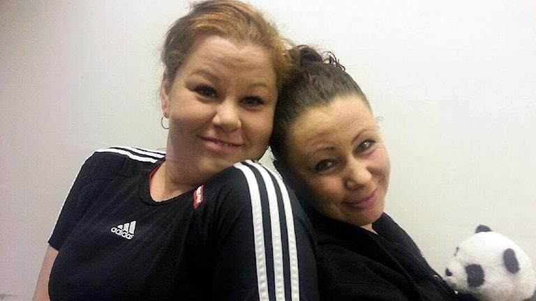 terveyspedagogi Anita Jonsson ja taidepedagogi Christa Sjöberg