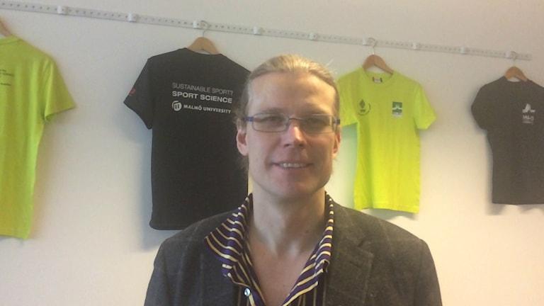 Urheilutieteentutkija Jyri Backman