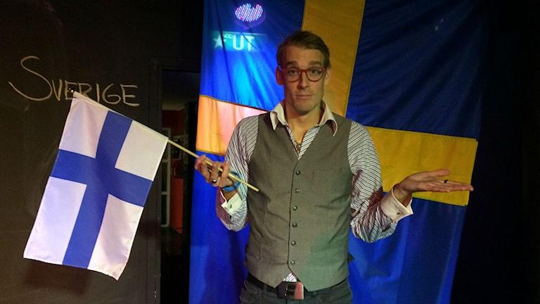 Albert Häggblom, finlandssvensk scenkonstnär