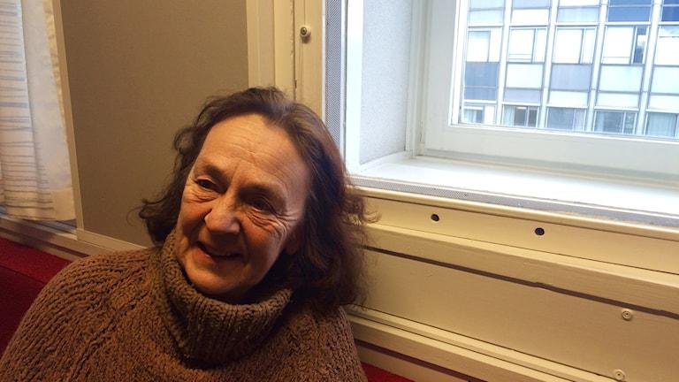 Teatteriohjaaja Anna Maria Ingerö.