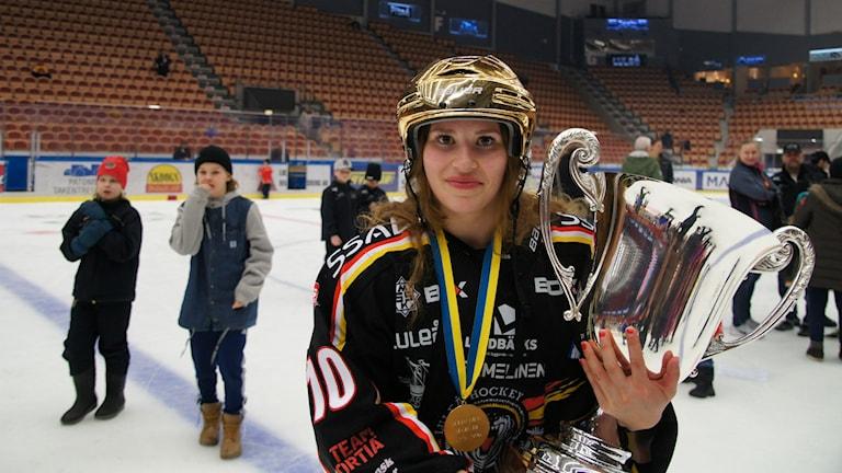 Ruotsin mestari Christa Alanko