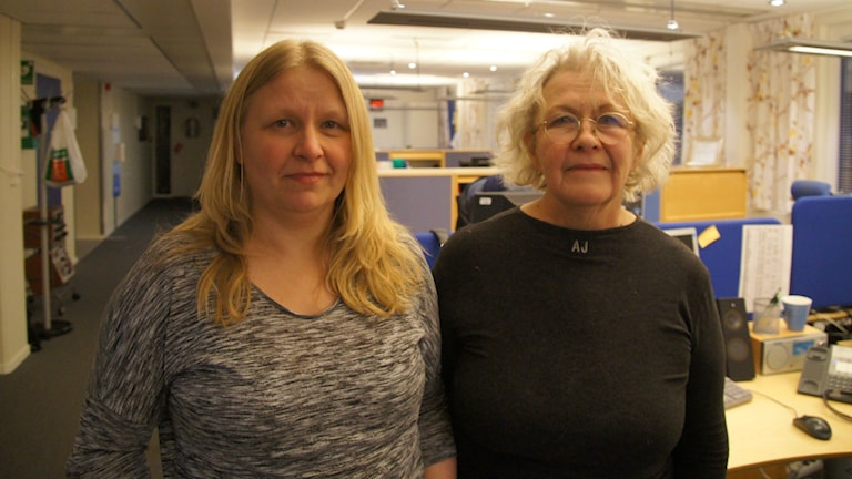 Katarina Parfa Koskinen ja Kati Jääskeläinen