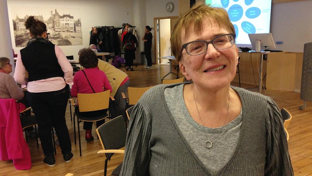 Katarina Pesonen on vielä nuori eläkeläinen.
