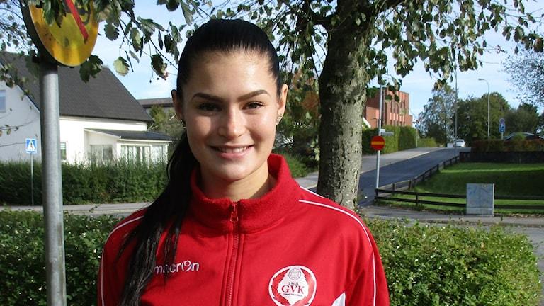 Hanna Salomäki, Gislaved Volleyn paras pistenikkari kaudella 2015-16.