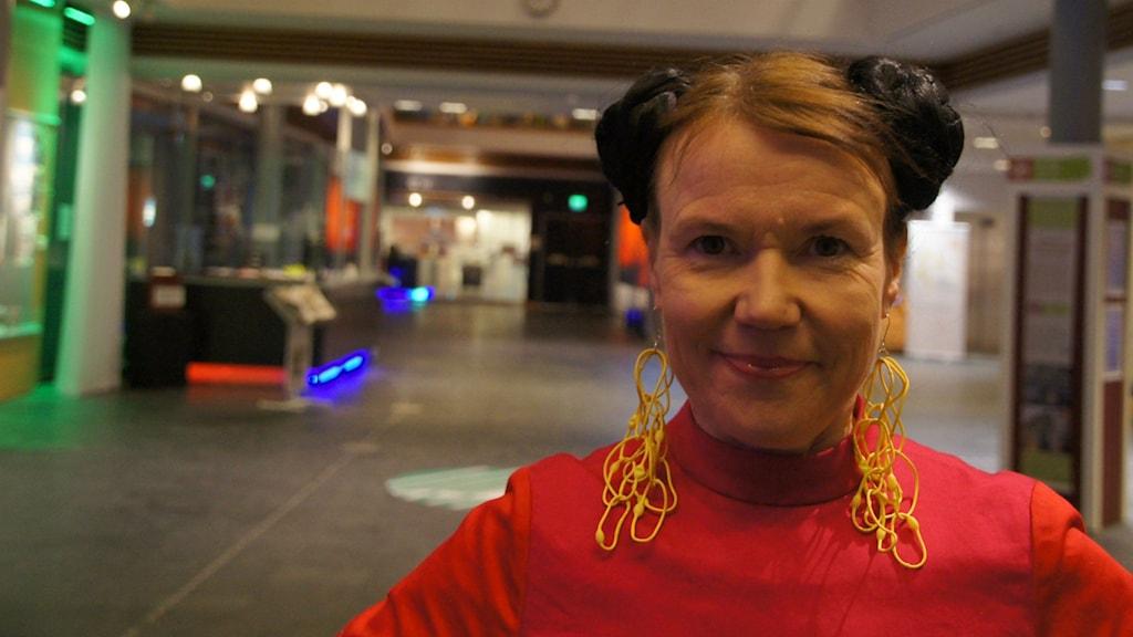Kirjailija Rosa Liksom.