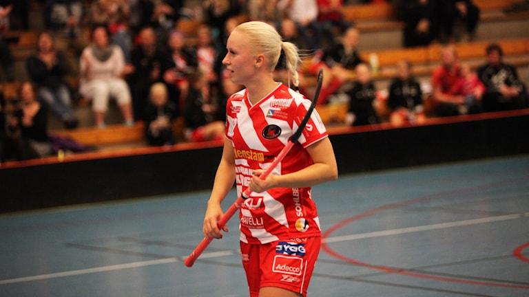 Laura Manninen, Pixbo, på plan.