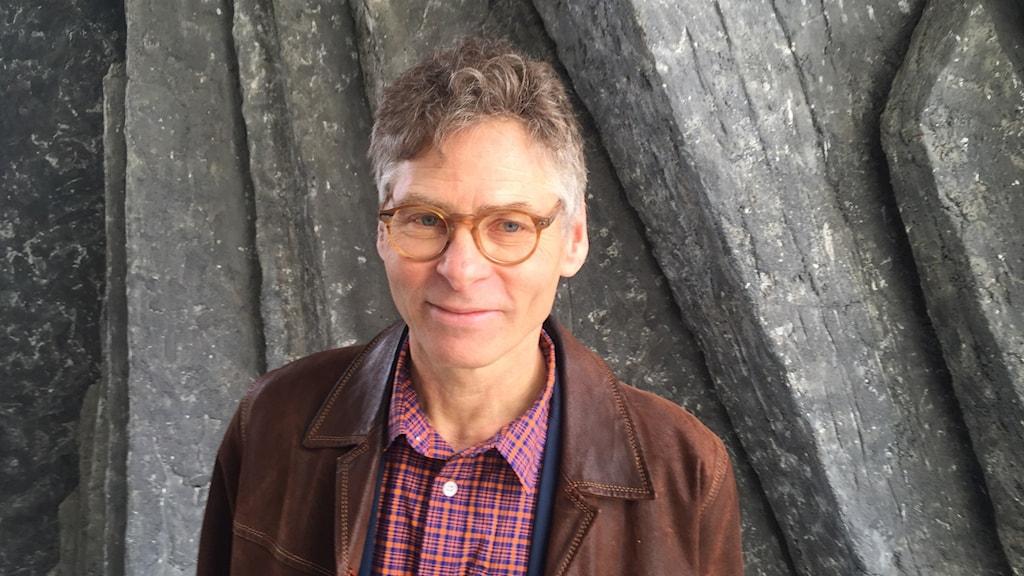 Klaus Carlander Tukholman radiotalolla.