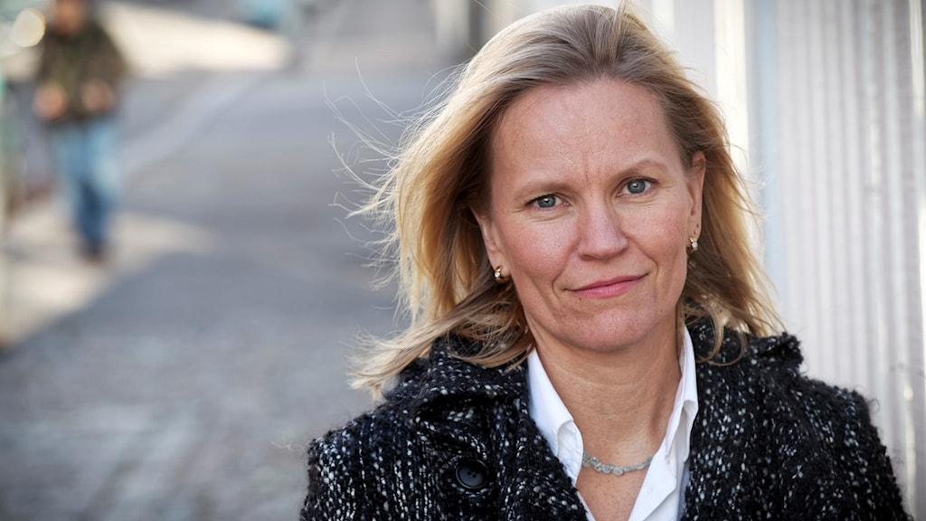 Kirjailija Katarina Baer