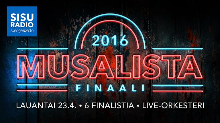 Esitekuva: Musalistan finaali - lauantai 23.4. - 6 finalistia - live-orkesteri