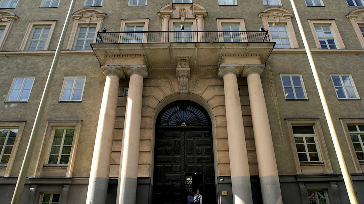 Handelshögskolan Tukholmassa.