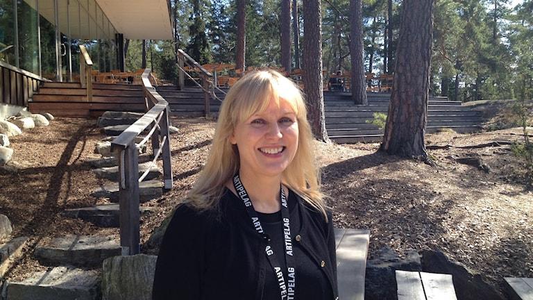 Riitta Östberg, toimitusjohtaja Artipelag