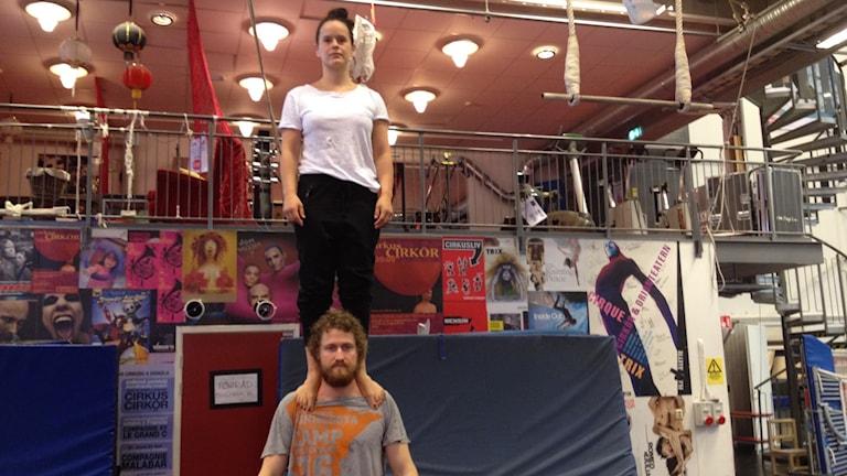 Saara Ahola, sirkusartisti