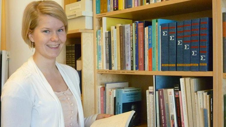 Oppimisen ja opettamisen eli didaktiikan tutkija Annaliina Gynne.