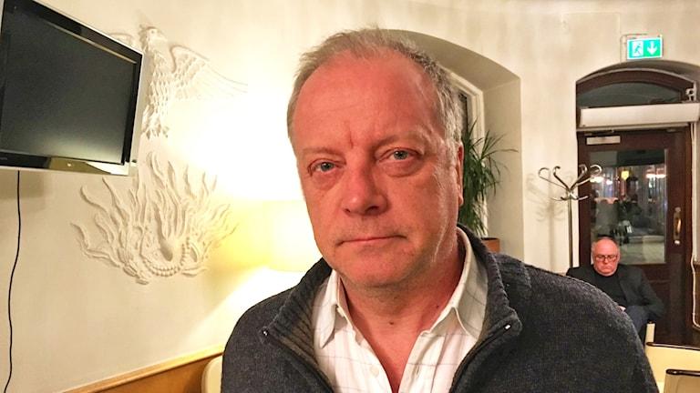 Författaren Matti Rönkä