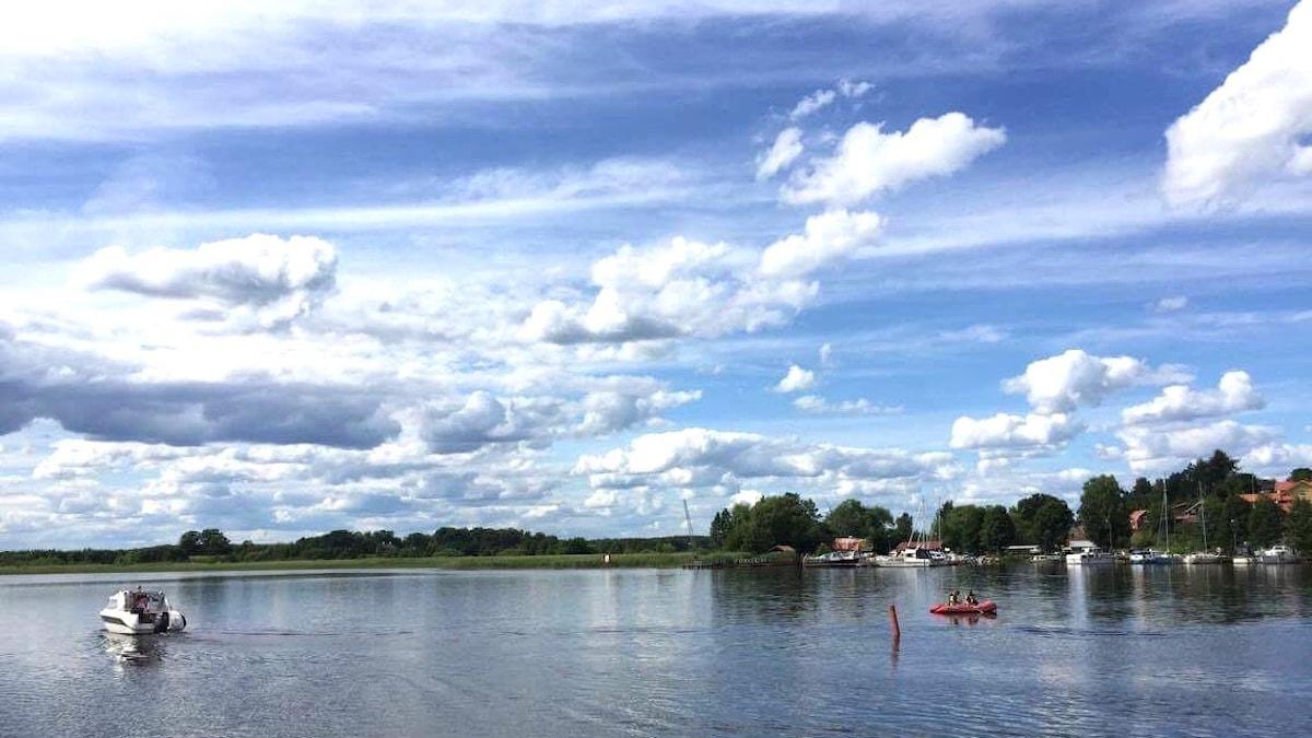 Järvimaisema Mälaren-järveltä